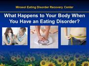 What Happens to Your Body When You Have an Eating Disorder?