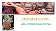 Children's Aid Tanzania - Provide Home and Aid to Orphans