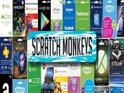 Buy Gift Cards Game cards and Entertainment Card from Scratchmonkeys!