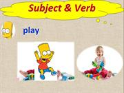 L 13_Subject and Verbs