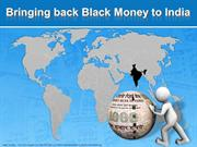 Bringing back Black Money in India