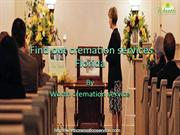 Find out cremation services Florida