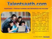 Talentsaath - Strategic Planning And Preparation for the Exam