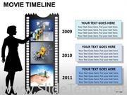 Business Movie Timeline Diagram