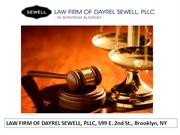 law firm new york law firm of dayrel sewell