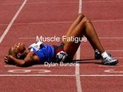 Muscle Fatigue (PE)