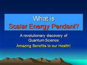 Scalar Energy Pendant-Biolife