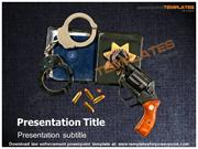 law enforcement powerpoint template - Templates For PowerPoint