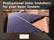 Professional Solar Installers for your Solar System