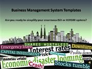 Business Management System Templates