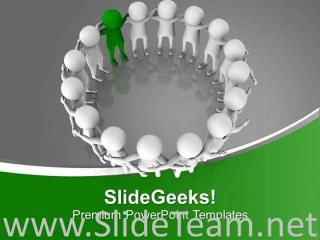 role of leader in team building powerpoint template powerpoint template