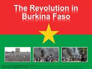 Revolution in Capital of Burkina Faso News