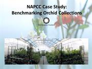 Smithsonian Gardens Benchmarking Orchid Collections