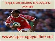 live rugby Tonga & United States streaming 15 nov