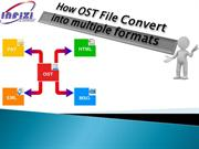 OST Converter Software - Outlook OST File Synchronization