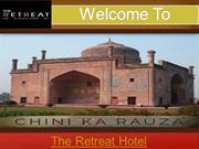 Best Hotel in the city of love Agra