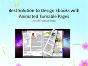 50% Off Software for Designing Ebooks of Stunning PageTurn