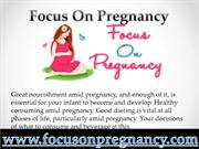 Proper Nutrition During Pregnancy
