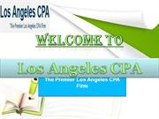 Professional Los Angeles Accounting and CPA Firms in Los Angeles