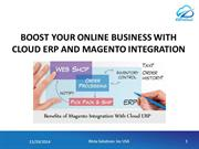 Boost your Online Business with Cloud ERP & Magento Integration