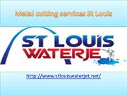 CNC Waterjet Cutting System St Louis