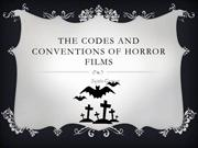The codes and conventions of horror films