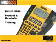 Rhino 5200 Online RHINO Academy Training UK