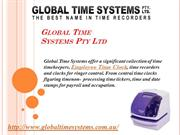 Global Time Systems Pty Ltd