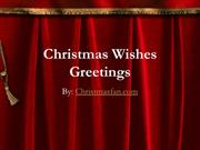 Christmas Wishes and Greetings