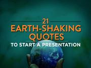 21 Quotes To Start Your Presentation