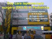 Day care laparoscopic Surgery in Pediatrics