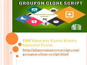 PHP Groupon Clone Script, PHP Groupon Clone