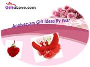 Anniversary Gifts OnlineFor Your Dear Ones By Year
