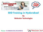 Realtime SEO Course Training in Hyderabad with Job Assistance