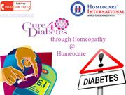 Control your blood sugar levels permanently  through Homeopathy