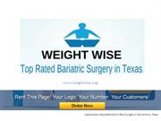 weightwise-Best Bariatric Surgeon in Comal County, Texas