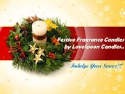Festive Frgrance Candles by LoveSpoon Candles