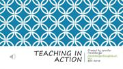 Teaching in Action