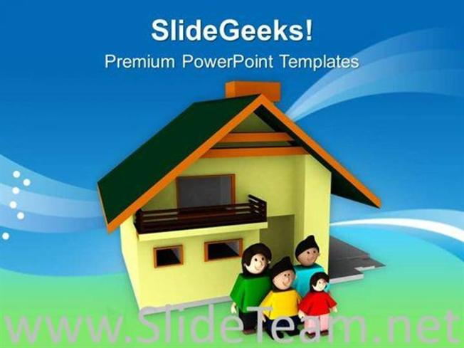 House is incomplete without family powerpoint template powerpoint related powerpoint templates toneelgroepblik Image collections