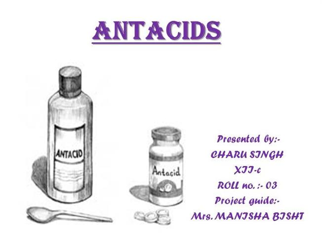 antacid lab An antacid is a substance which neutralizes stomach acidity and is used to  relieve heartburn, indigestion or an upset stomach.