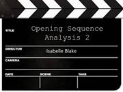 Opening Sequence Analysis 2