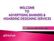 Banners Ads Designers in Vadodara, India