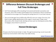 Is Your Discount Broker a Scam