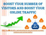 Boost Your Number Of Visitors And Boost Your Online Traffic