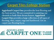 Carpet one various services