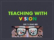 Teaching with Vision