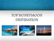 Top Honeymoon Destination