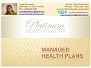 Individual Managed Health Plans