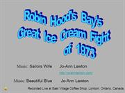 Robin Hoods Bay The Great Ice Cream Fight of 1973