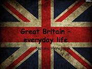 Great Britain – everyday life